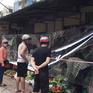 Chợ Hà Nội quây nylon phòng COVID-19