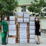 Thêm nhiều sản phẩm hỗ trợ chống dịch được gửi tới các y bác sỹ TP Hồ Chí Minh