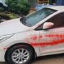 Ô tô bị tạt sơn hàng loạt khi đỗ qua đêm tại một khu đô thị ở Hà Nội