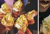 """Thử món kem dát vàng """"gây bão"""" ngay tại TP.HCM"""