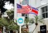 Đường phố Hà Nội rực rỡ cờ chào mừng Hội nghị thượng đỉnh Mỹ - Triều