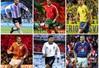 ẢNH: Ngắm các siêu sao bóng đá thời nay trong bộ đồng phục cách đây... 20 năm