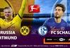 Bundesliga – giải VĐQG Đức trở lại trọn vẹn trên VTVcab: Hấp dẫn derby vùng Ruhr Dortmund vs Schalke 04